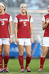 22 November 2013: Arkansas' Tyler Allen (5). The University of Arkansas Razorbacks played the Saint John's University Red Storm at Koskinen Stadium in Durham, NC in a 2013 NCAA Division I Women's Soccer Tournament Second Round match. Arkansas won the game 1-0.