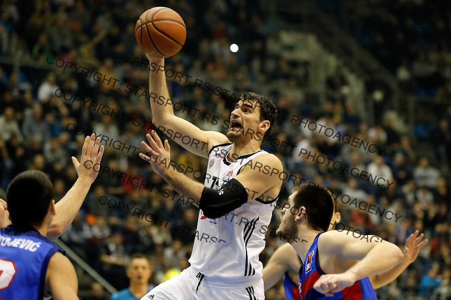 Cedomir Vitkovac Aba regionalna liga Partizan - Igokea 27.12.1015. December 27. 2015. (credit image & photo: Pedja Milosavljevic / STARSPORT)