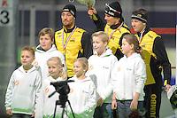 SCHAATSEN: GRONINGEN: Sportcentrum Kardinge, 17-01-2015, KPN NK Sprint, ©foto Martin de Jong