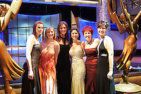 28 April 2006: Gown dressed Audience members pose for a photo on stage at the 33rd Annual Daytime Emmy Awards at the Kodak Theatre at Hollywood and Highland, CA. Contact photographer for usage availability.