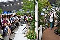 International rose and gardening show in Tokorozawa