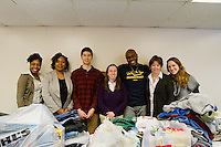 Cornell Woodson, HESA, Lisa Keller HESA. Martin Luther King Jr. celebration activites. Food Drive.