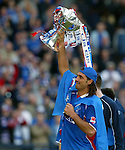 Lorenzo Amoruso with the CIS Cup 2002