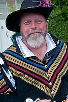 LA Pride 2011, Male, Participant, Renaissance Clothing ; West Hollywood; 41st Annual; Los Angeles CA; Santa Monica; Boulevard; West Hollywood;