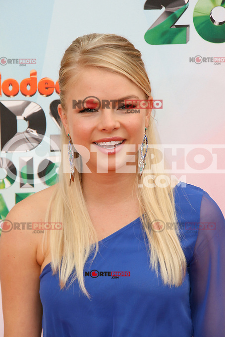 Kelli Goss at Nickelodeon's 25th Annual Kids' Choice Awards at The Galen Center on March 31, 2012 in Los Angeles, California. &copy; mpi26/MediaPunch Inc. /NortePhoto<br />