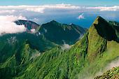 The View From Pu'U Kukui, West Maui Watershed, West Maui Mountains