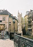Altstadt von Bratislava mit Engelstatue/ Oldtown of Bratislava with a angel sculpture