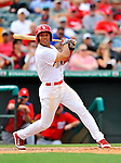 3 March 2011: St. Louis Cardinals' fielder Tommy Pham in action during a Spring Training game against the Washington Nationals at Roger Dean Stadium in Jupiter, Florida. The Cardinals defeated the Nationals 7-5 in Grapefruit League action. Mandatory Credit: Ed Wolfstein Photo