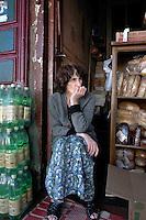 Market trader in Batumi..