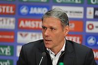 VOETBAL: ABE LENSTRA STADION: HEERENVEEN: 30-11-2013, SC Heerenveen - Go Ahead Eagles, uitslag 3-1, Marco van Basten (trainer/coach SC Heerenveen), ©foto Martin de Jong