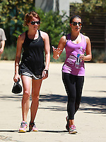 AUG 17 Lea Michele Seen Out and about