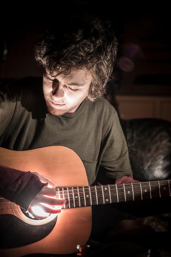 Musician portrait.