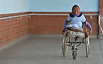 Anishah Masaire, 11, is a student at the Jairos Jiri School in Harare, Zimbabwe. She uses a wheelchair provided by the Jairos Jiri Association with support from CBM-US.