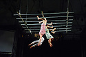 Edinburgh, UK. 11.08.2015. Ockham's Razor present 'Arc' and 'Every Action' in a double bill, in the Beauty, at Circus Hub, on the Meadows, as part of the Edinburgh Festival Fringe. This piece is 'Arc'. Photograph © Jane Hobson.