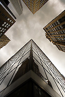 Stock photo of buildings in downtown Houston, Texas.