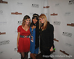 "Summer Sinclair (from l.), Angie Hill, and Carlisle Forrester of movie ""Now or Never"" Oxford Film Festival Awards show at the Powerhouse on Saturday, February 6, 2010, in Oxford, Miss."