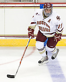 Brian Gibbons (BC - 17) - The Boston College Eagles defeated the visiting University of Toronto Varsity Blues 8-0 in an exhibition game on Sunday afternoon, October 3, 2010, at Conte Forum in Chestnut Hill, MA.