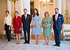 11.05.2017; Luxembourg: KATE MIDDLETON WITH THE GRAND DUKE AND DUCHESS OF LUXEMBOURG, CROWN PRINCESS STEPHANIE, CROWN PRINCE GUILLAUME AND PRINCESS ALEXANDRA<br /> at the Grand Ducal Palace, Luxembourg.<br /> Mandatory Photo Credit: &copy;Francis Dias/NEWSPIX INTERNATIONAL<br /> <br /> IMMEDIATE CONFIRMATION OF USAGE REQUIRED:<br /> Newspix International, 31 Chinnery Hill, Bishop's Stortford, ENGLAND CM23 3PS<br /> Tel:+441279 324672  ; Fax: +441279656877<br /> Mobile:  07775681153<br /> e-mail: info@newspixinternational.co.uk<br /> Usage Implies Acceptance of OUr Terms &amp; Conditions<br /> Please refer to usage terms. All Fees Payable To Newspix International