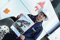 SPEEDSKATING: CALGARY: 28-02-2017, World Champion Sprint Kai Verbij (NED), ©photo Martin de Jong
