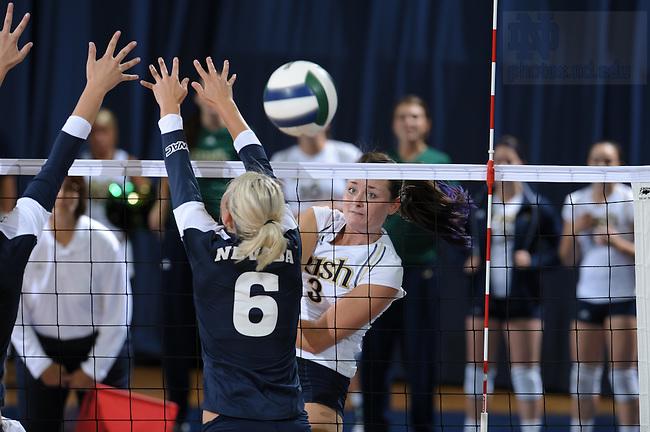 Volleyball..Photo by Matt Cashore/University of Notre Dame
