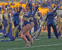 The Pitt Golden Girls perform. The Pittsburgh Panthers beat the Syracuse Orange 33-20 at Heinz Field in Pittsburgh, Pennsylvania on December 3, 2011