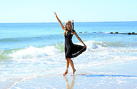 SEP 15 Official Miss America 2015 Press Conference and Official Toe Dip On The Beach