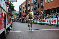 WIELRENNEN: SURHUISTERVEEN: 30-07-2013, Profronde Surhuisterveen, Chris Froome, ©foto Martin de Jong