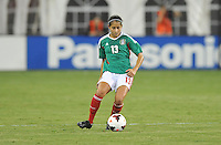 Arianne Romero (13) of Mexico. The USWNT defeated Mexico 7-0 during an international friendly, at RFK Stadium, Tuesday September 3 , 2013.