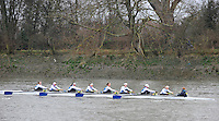 London, Great Britain,  RC Belvoir Zurich, SUI, rowing past Chiswick Pier, during the 2012 Head of the River Race, raced over Rowing Course Championship course,  Mortlake to Putney  4.25 Miles, on the River Thames Saturday  03/03/2012 [Mandatory Credit: © Peter Spurrier/Intersport Images]