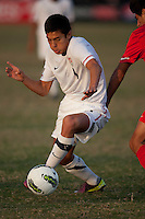 The U.S. Under-17 Men's National Team defeated Turkey 2-1 in the team's second match of the 2011 Nike International Friendlies with goals from Tyler Turner and Junior Flores.  Premier Sports Campus at Lakewood Ranch, Fla.
