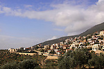 Druze village Ein el Asad in the Upper Galilee
