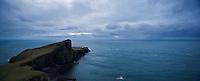 Neist Point on stormy day, Isle of Skye, Scotland