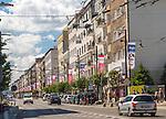 Gdynia, (woj. pomorskie) 21.07.2016. Ulica Świętojańska .