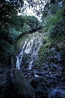 The Chorro El Macho waterfall in the El Macho Ecological Reserve in El Valle de Anton, Panama
