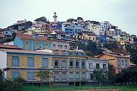 Cerro Santa Ana and the Las Penas restored historic district in Guayaquil, Ecuador
