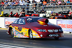 May 18, 2012; Topeka, KS, USA: NHRA pro stock driver Mark Hogan during qualifying for the Summer Nationals at Heartland Park Topeka. Mandatory Credit: Mark J. Rebilas-