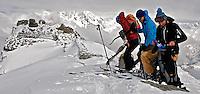 Top of Arpy, Italy ski tour