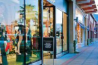 bebe, El Paseo Drive, Palm Desert, CA, Boutiques; famous; retailers; fashion; haute couture; shopping; Mannequins; near Palm Springs; Palm Trees; California; Coachella Valley; Desert;