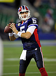 3 December 2009: Buffalo Bills' quarterback Trent Edwards warms up prior to a game against the New York Jets at the Rogers Centre in Toronto, Ontario, Canada. The Bills fell to the Jets 19-13. Mandatory Credit: Ed Wolfstein Photo