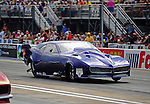 Jun. 17, 2011; Bristol, TN, USA: NHRA pro mod driver Roger Burgess during qualifying for the Thunder Valley Nationals at Bristol Dragway. Mandatory Credit: Mark J. Rebilas-