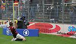 Sandhausen 19.04.2008, Torjubel von Steffen Wohlfarth (Ingolstadt) in der Regionalliga S&uuml;d 2007/08 SV Sandhausen 1916 - FC Ingolstadt 04<br /> <br /> Foto &copy; Rhein-Neckar-Picture *** Foto ist honorarpflichtig! *** Auf Anfrage in h&ouml;herer Qualit&auml;t/Aufl&ouml;sung. Belegexemplar erbeten.