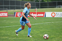 Piscataway, NJ - Saturday May 20, 2017: Christie Pearce during a regular season National Women's Soccer League (NWSL) match between Sky Blue FC and the Houston Dash at Yurcak Field.  Sky Blue defeated Houston, 2-1.