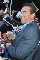 JUN 25 Arnold Schwarzenegger at Good Morning America NY