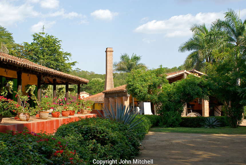 The Los Osuna tequila factory near Mazatlan, Sinaloa, Mexico