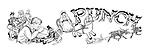 Charivaria illustrated titel heading (toymaker)