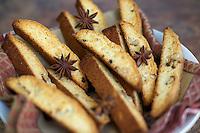 Star anise Italian biscotti