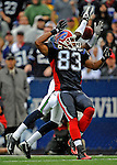 7 September 2008:  Buffalo Bills' wide receiver Lee Evans has a pass broken up by Seattle Seahawks cornerback Kelly Jennings at Ralph Wilson Stadium in Orchard Park, NY. The Bills defeated the Seahawks 34-10 in the season opening game...Mandatory Photo Credit: Ed Wolfstein Photo