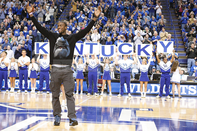 Michael Kidd-Gilchrist is greeted during the second half of the UK Men's basketball game vs. Eastern Michigan at Rupp Arena in Lexington, Ky., on Wednesday, January 2, 2013. UK won 90-38. Photo by Tessa Lighty   Staff