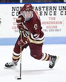 Pat Mullane (BC - 11) - The Northeastern University Huskies defeated the visiting Boston College Eagles 2-1 on Saturday, February 19, 2011, at Matthews Arena in Boston, Massachusetts.