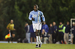 11 October 2007: UNC's Andre Sherard. The University of North Carolina Tar Heels defeated the Duke University Blue Devils 1-0 in overtime at Fetzer Field in Chapel Hill, North Carolina in an Atlantic Coast Conference NCAA Division I Men's Soccer game.